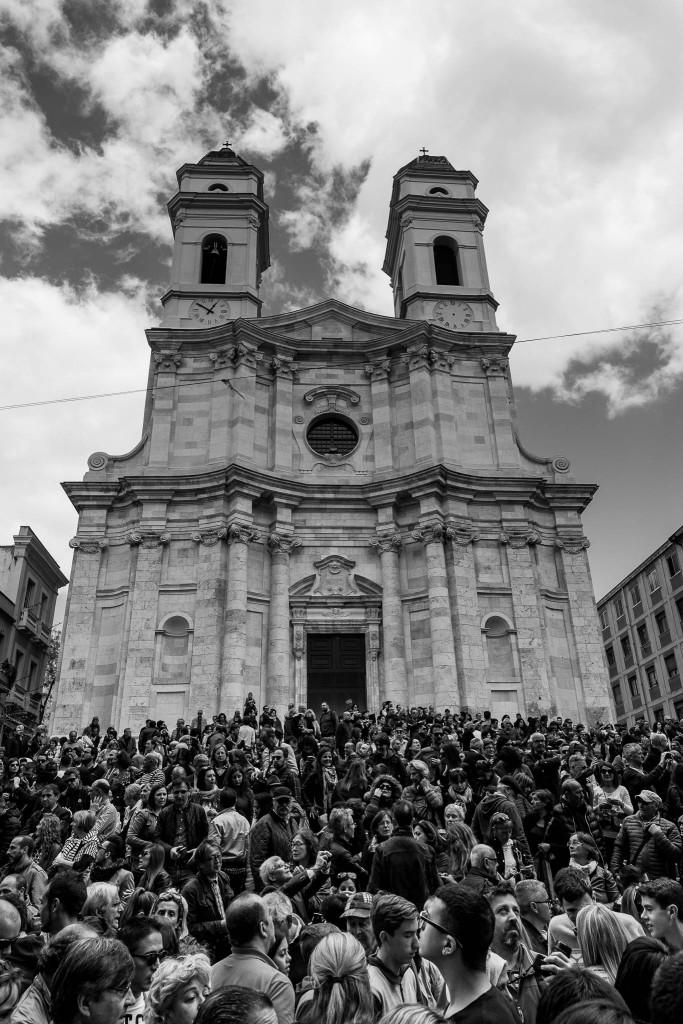 La partecipazione della città di Cagliari è imponente