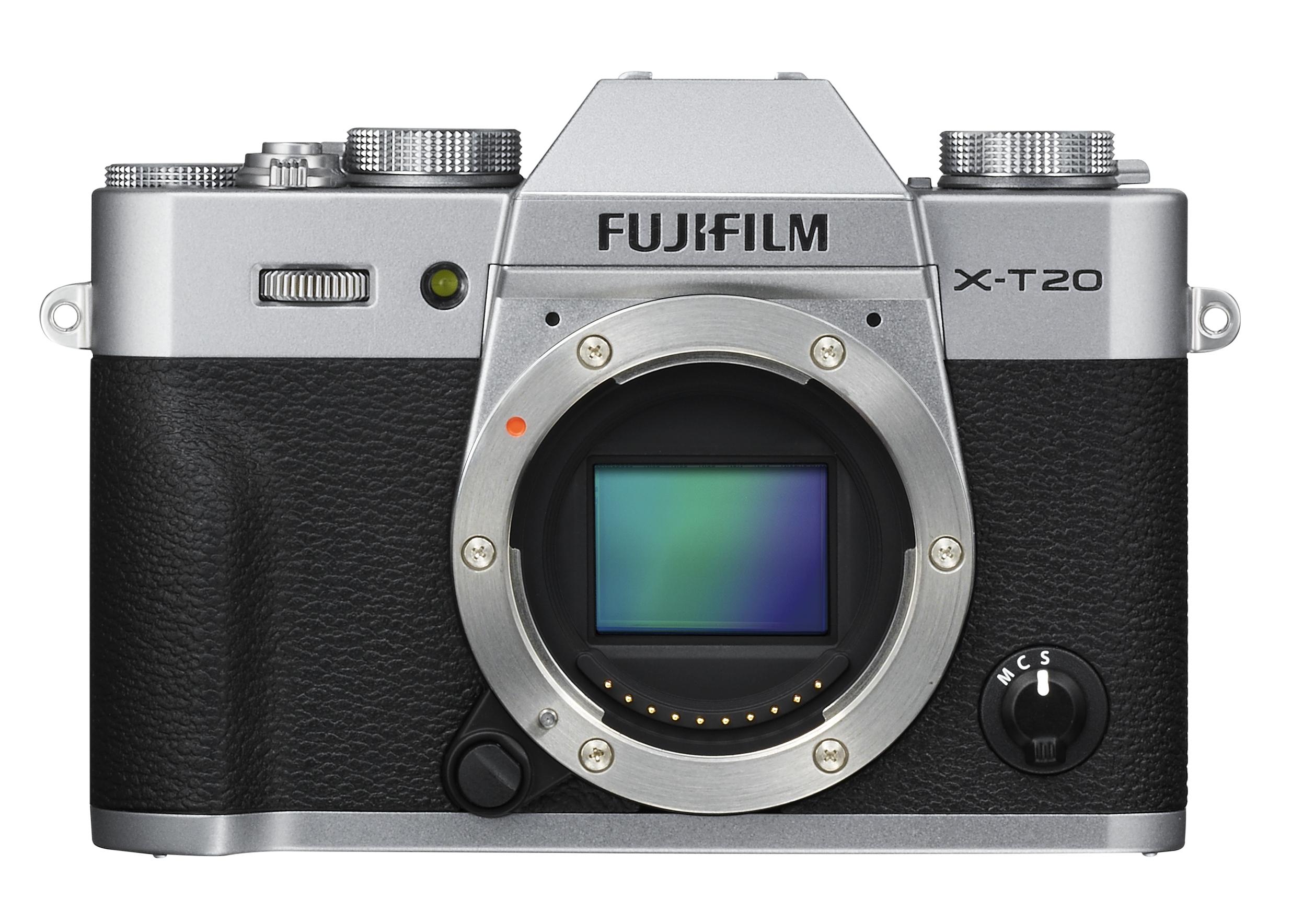 Nuovo aggiornamento software FUJIFILM X-T20