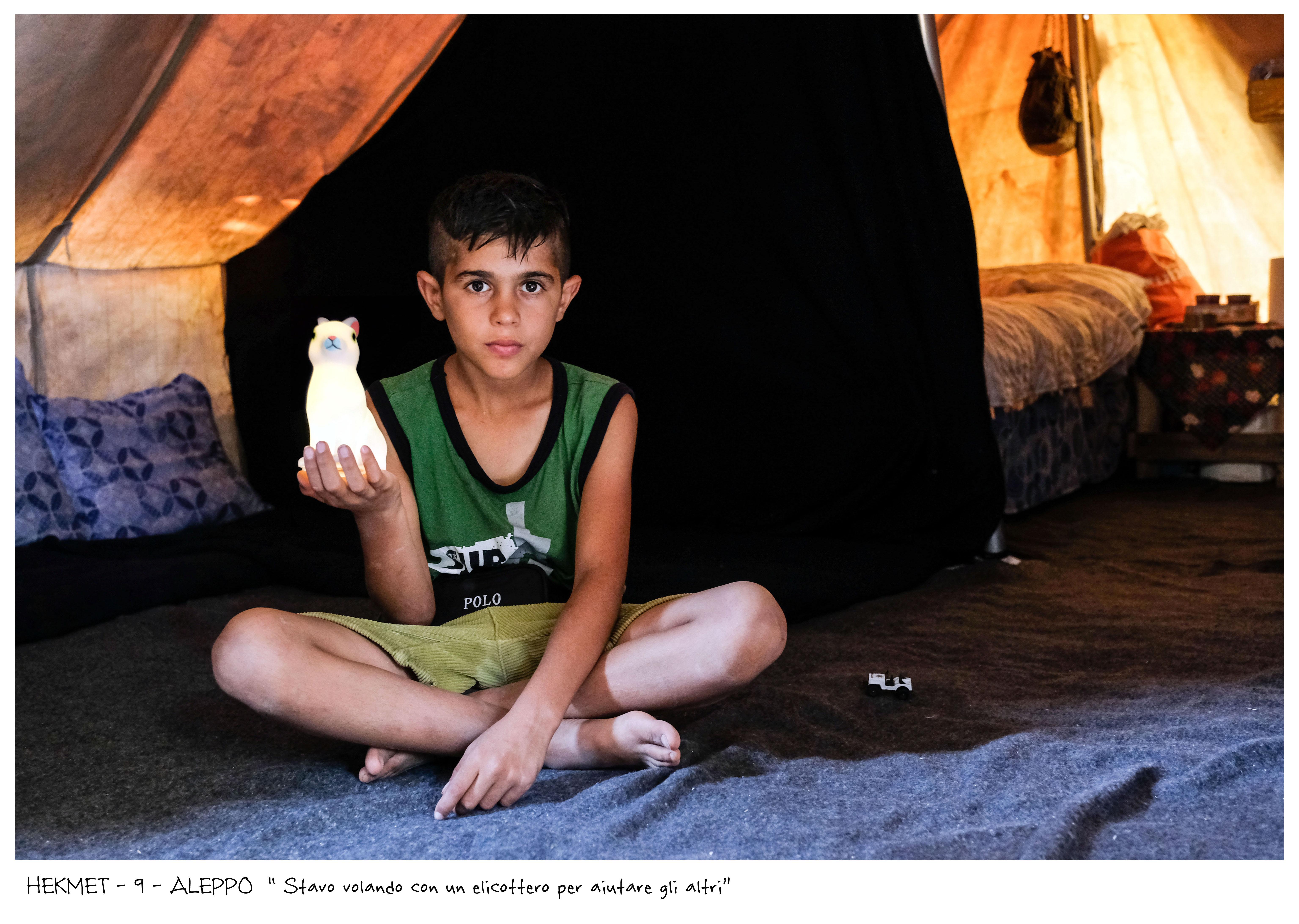 Elena Givone : I bambini di Aleppo