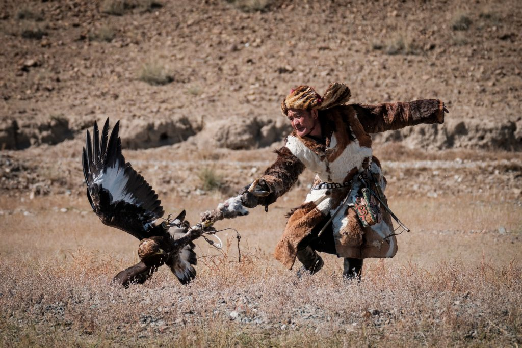 Simone Raso the eagle's hunter
