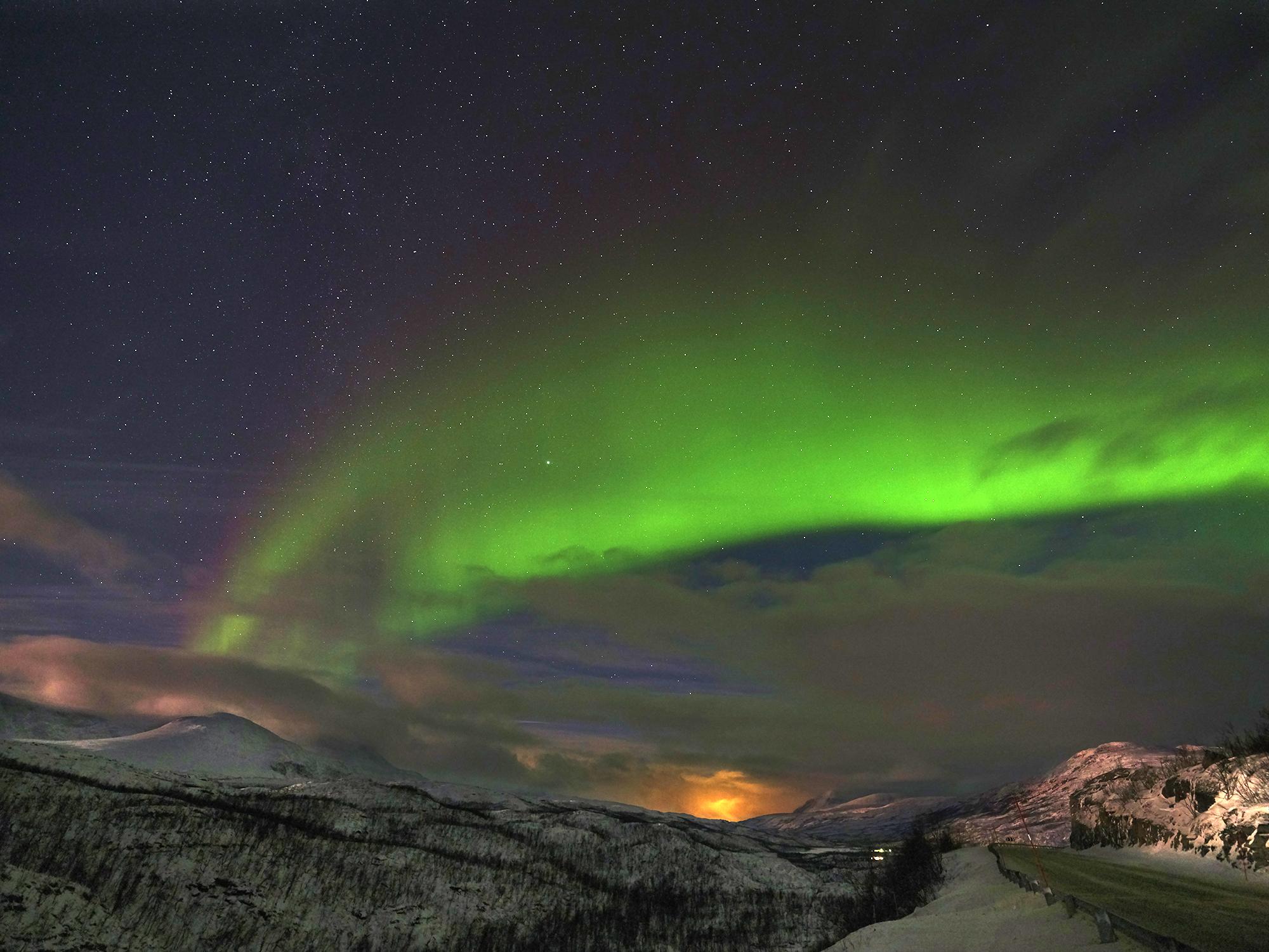 Simone Raso: in viaggio al circolo polare artico a caccia di aurore boreali e di paesaggi mozzafiato