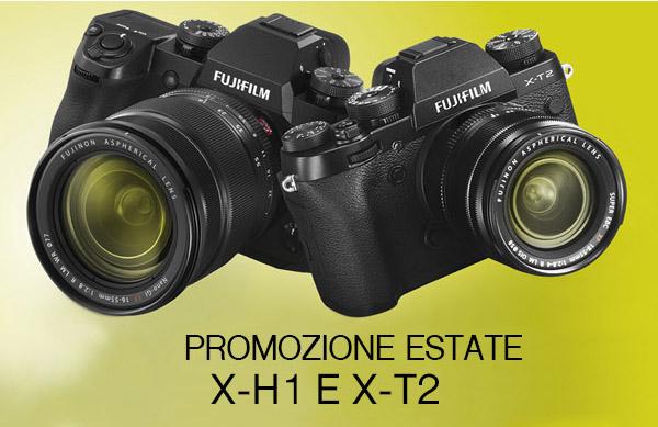 PROMOZIONE ESTATE X-H1 E X-T2