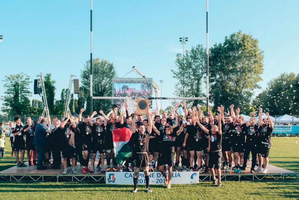 Alessandro Failla: Finale Rugby Eccellenza 17/18 al Plebiscito di Padova