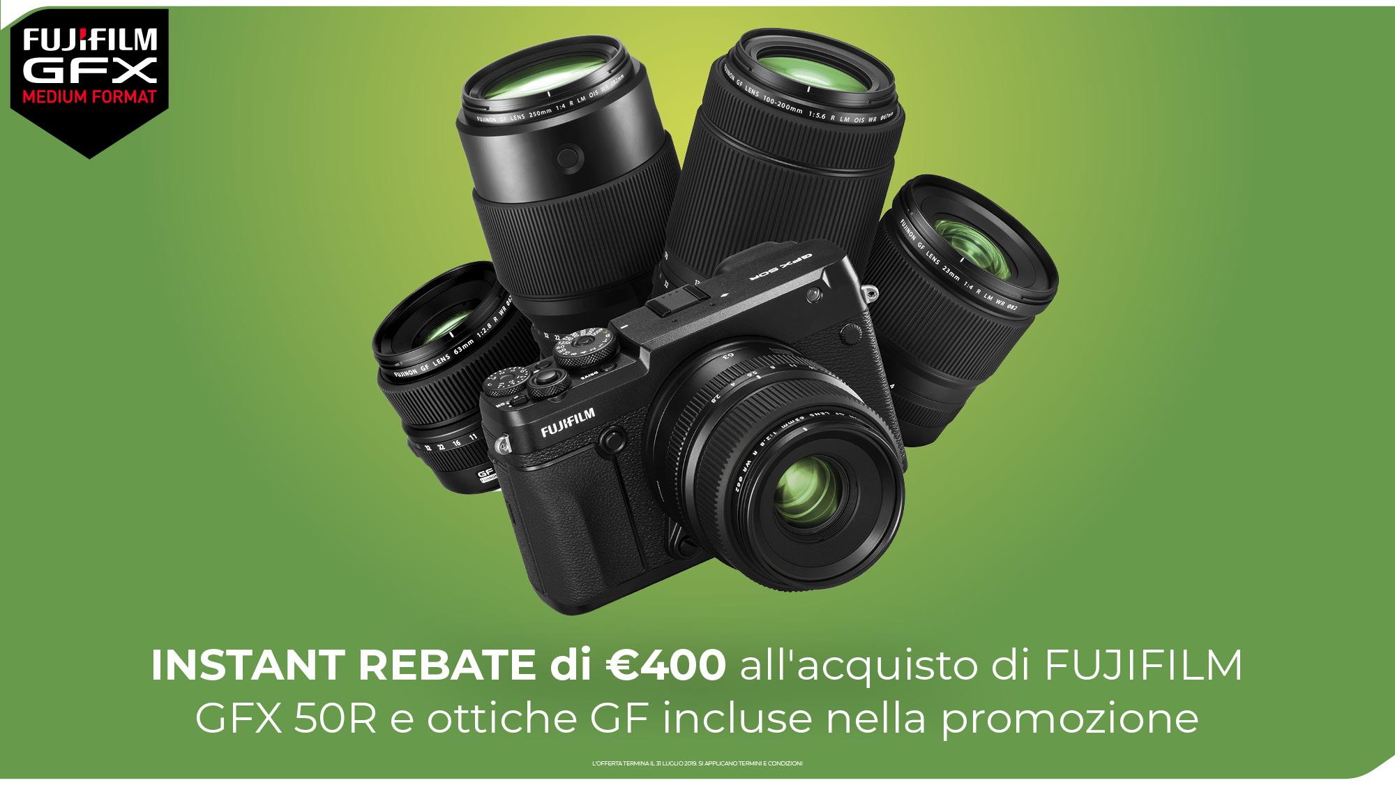 INSTANT REBATE GFX 50R